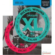Cordas para Guitarra Barítona D'Addario XL Nickel Wound
