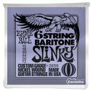 Encordoamento Ernie Ball Baritone Slinky para guitarra (013) Modelo P02839
