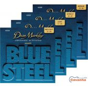 Encordoamento violão aço Dean Markley Blue Steel