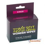 Limpador de Cordas Ernie Ball (Wonder Wipes)
