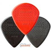 Palheta Dunlop Max-Grip Jazz III