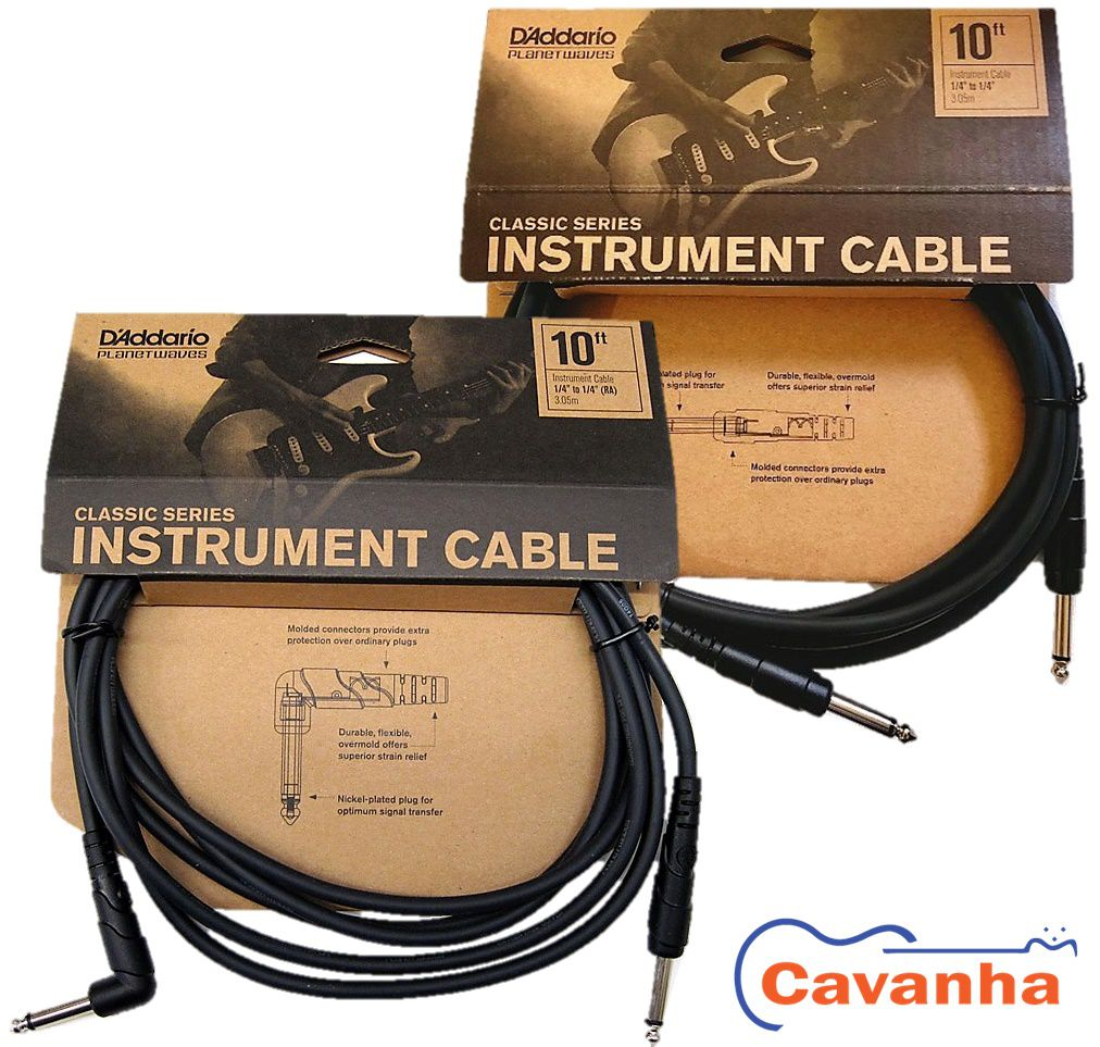 Cabo Planet Waves Classic Series 3,05 mts (10 ft) P10  - Cavanha Acessorios Musicais