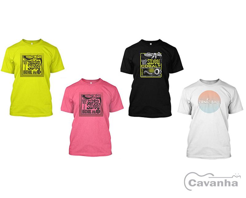 Camiseta Ernie Ball  - Cavanha Acessorios Musicais