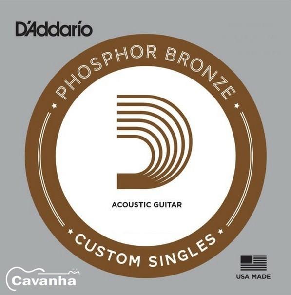 Corda avulsa Daddario Aço Phosphor Bronze (violão)  - Cavanha Acessorios Musicais