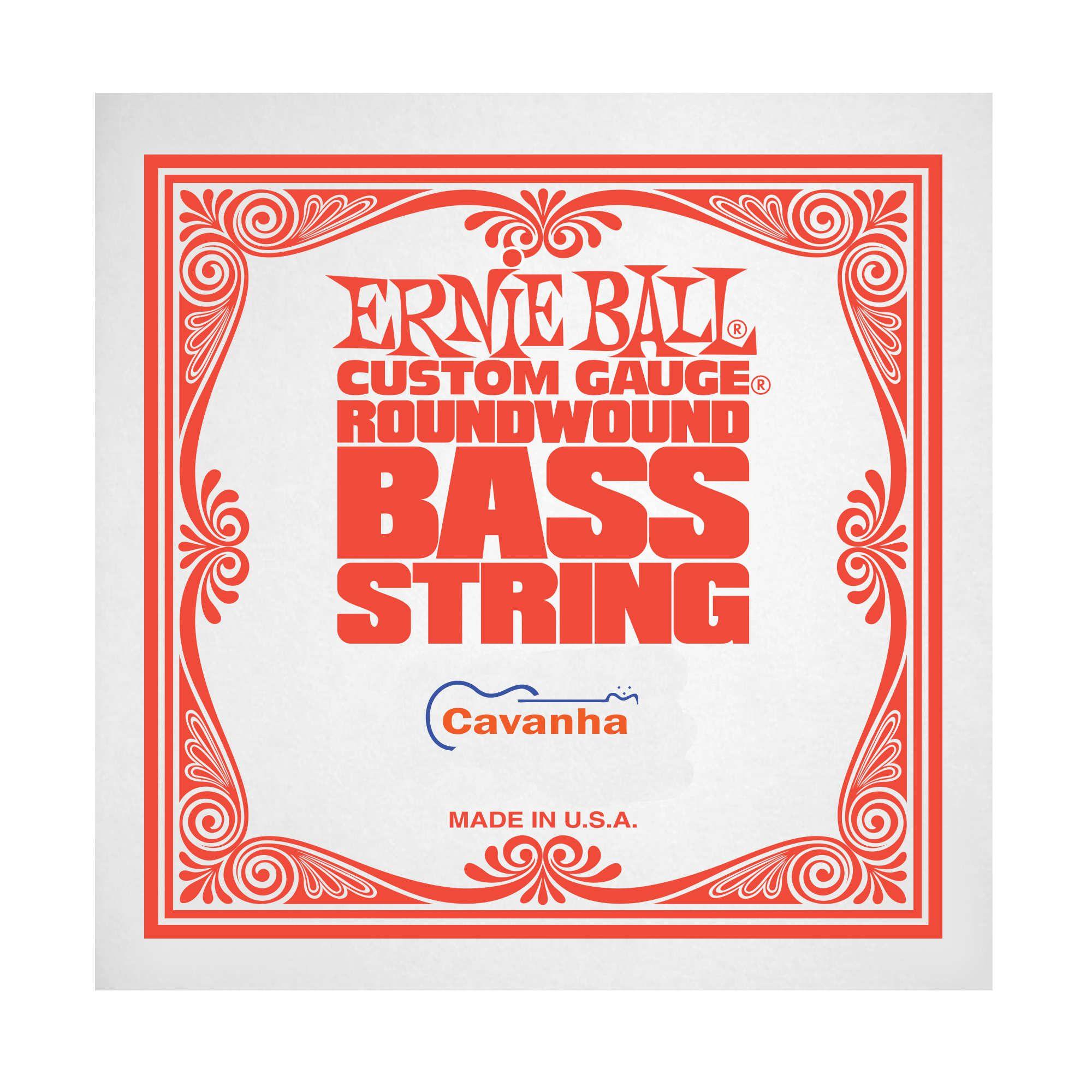 Corda avulsa Ernie Ball Nickel (baixo)  - Cavanha Acessorios Musicais