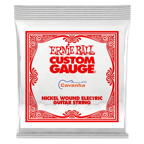Corda avulsa Ernie Ball Nickel (guitarra)  - Cavanha Acessorios Musicais