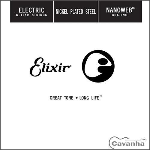 Corda avulsa guitarra Elixir Nanoweb  - Cavanha Acessorios Musicais