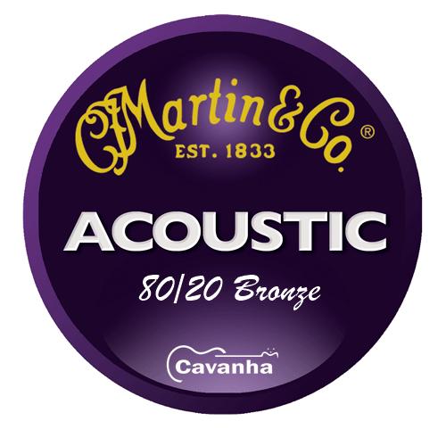 Cordas de violão Martin 80/20 Bronze  - Cavanha Acessorios Musicais