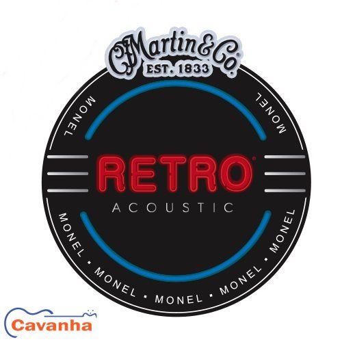 Encordoamento Martin Retro para violão  - Cavanha Acessorios Musicais