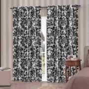 Cortina Blackout PVC Estampada Nova Coleção 4  x 2,5 m | Admirare