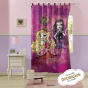 Cortina com alça Estampada Ever After High | Lepper