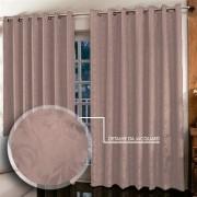 Cortina Jacquar para sala/quarto 4 x 2,5 m | Admirare