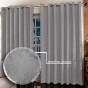 Cortina Jacquard 3,00 x 2,50  para sala/quarto | Admirare