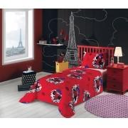 Jogo de cama Miraculous: As Aventuras de Ladybug  2 Peças 059104   Lepper