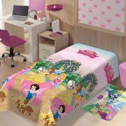 Manta de Microfibra Soft Princesas Jardim | Jolitex