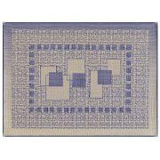 Tapete De Sala Azul 150x100 Sisal Sislle S295 | Lancer