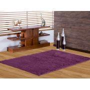 Tapete de Sala Shaggy 1,00X1,40 Purpura