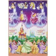 Tapete Recreio Princesas Disney 120x180 | Jolitex