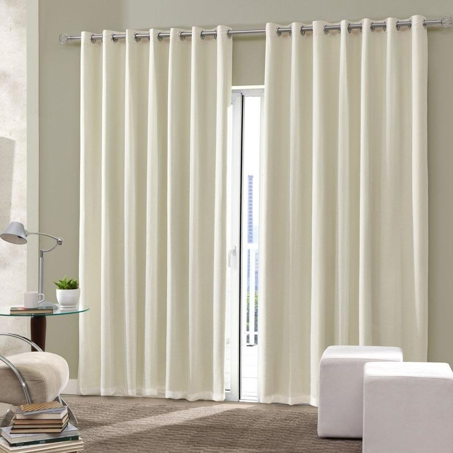 Cortina blackout de sala e quarto em tecido 4 00 x 2 50 admirare - Cortinados modernos ...