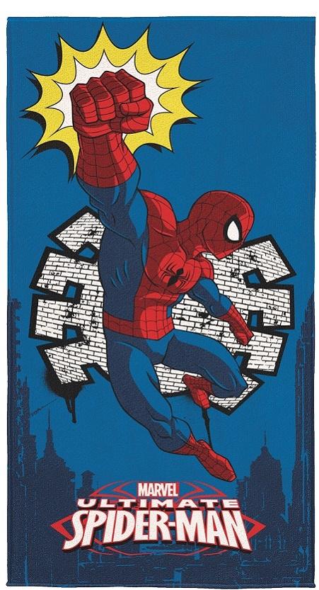 Toalha Aveludada Spider-Man 70cm x 1,40m - Lepper