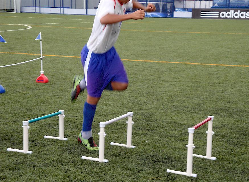 BARREIRAS DE PLIOMETRIA 30-50CM PRO KIT COM 5 PEÇAS  - Actualsports  Equipamentos Esportivos