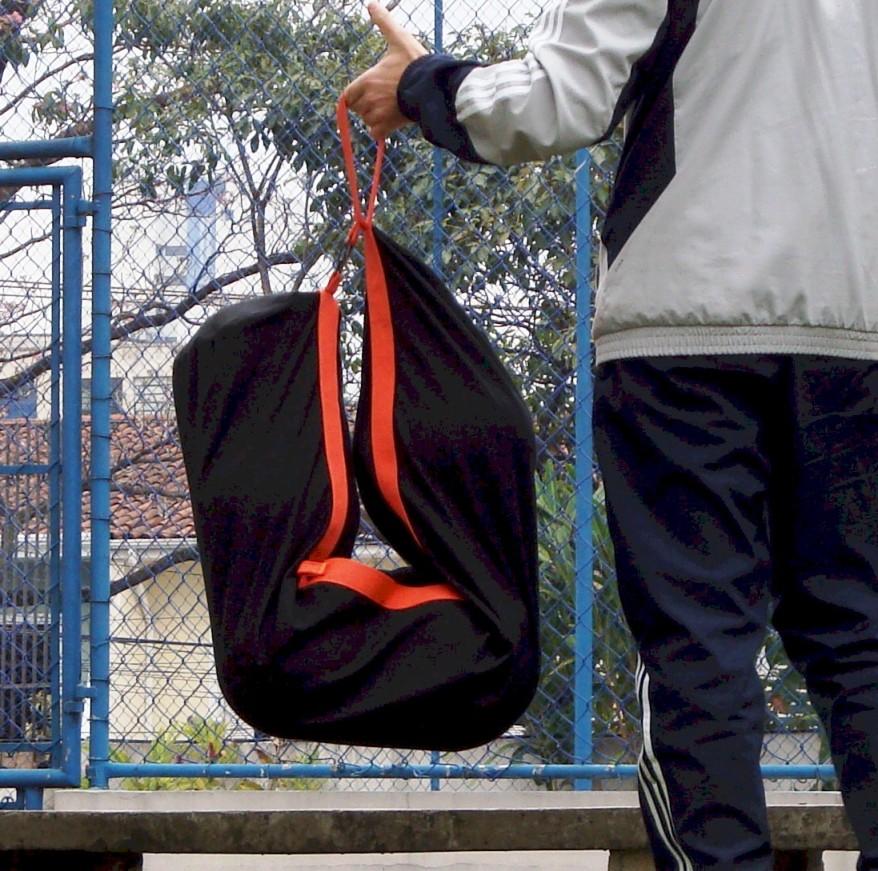 SACO DE BOLAS M - ATÉ 7 BOLAS 23cm  - Actualsports  Equipamentos Esportivos