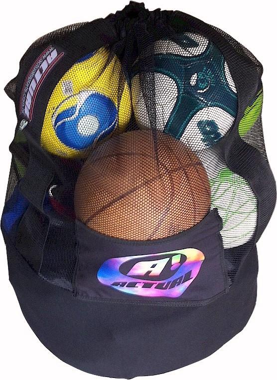SACO DE BOLAS G - ATÉ 18 BOLAS 23cm  - Actualsports  Equipamentos Esportivos