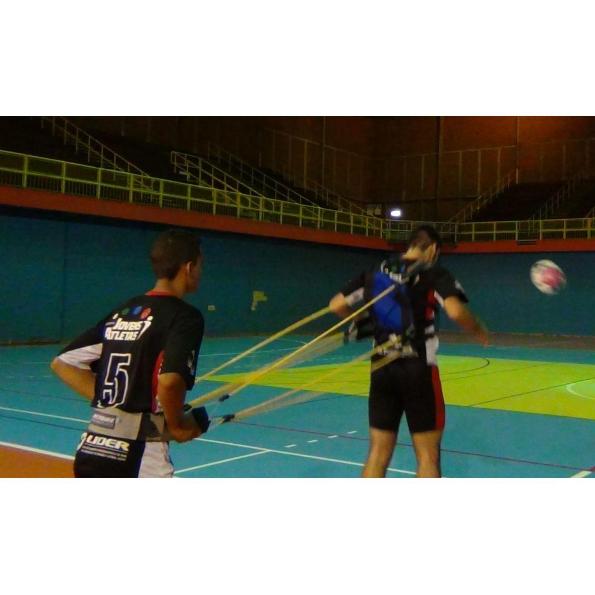 COLETE DE TRAÇÃO DUPLO COMPLETO C/6 ELASTICOS  - Actualsports  Equipamentos Esportivos