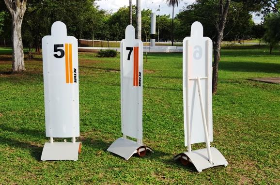 BARREIRA DE FALTA 195x50cm (unidade)  - Actualsports  Equipamentos Esportivos