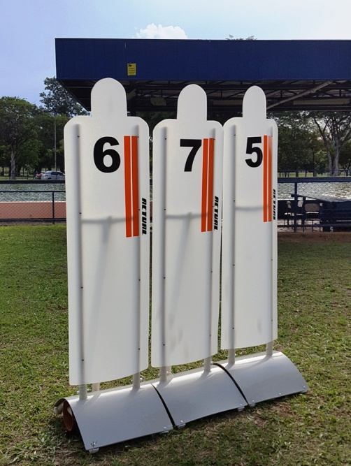 BARREIRA DE FALTAS  50X195  - Actualsports  Equipamentos Esportivos