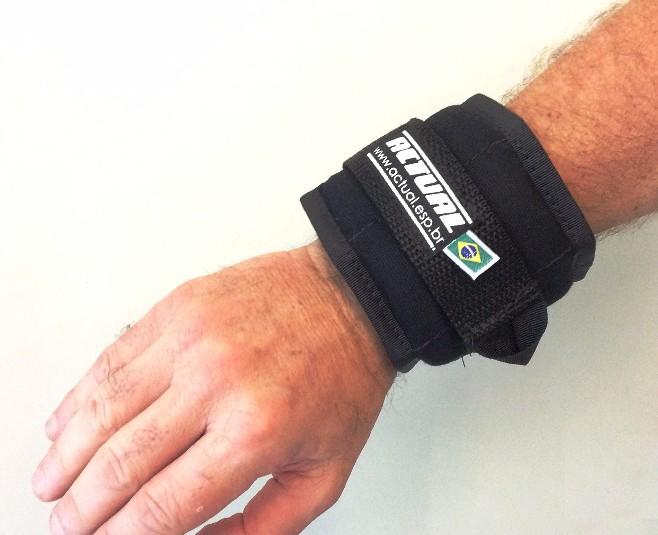 MUNHEQUEIRA DE PESO 500g/Par - Wrist Weight Actual  - Actualsports  Equipamentos Esportivos