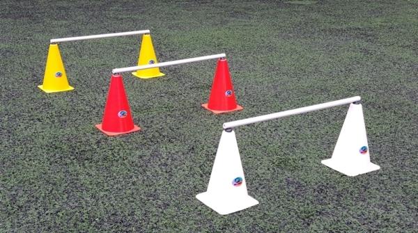 JOGO DE CONE & BARREIRINHA 20CM  - Actualsports  Equipamentos Esportivos