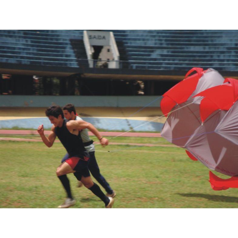 PARAQUEDAS PARA TREINO FUNCIONAL - RESISTÊNCIA EM CORRIDAS - PROFISSIONAL  - Actualsports  Equipamentos Esportivos