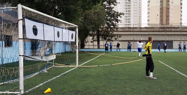 REDE PARA TREINO DE TIRO AO ALVO NO GOL - 700X70M GOL OFICIAL - Marca: Actual®  - Actualsports  Equipamentos Esportivos