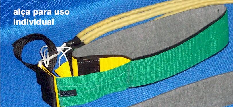 CINTO DE TRAÇÃO VERDE E AMARELO  - Actualsports  Equipamentos Esportivos