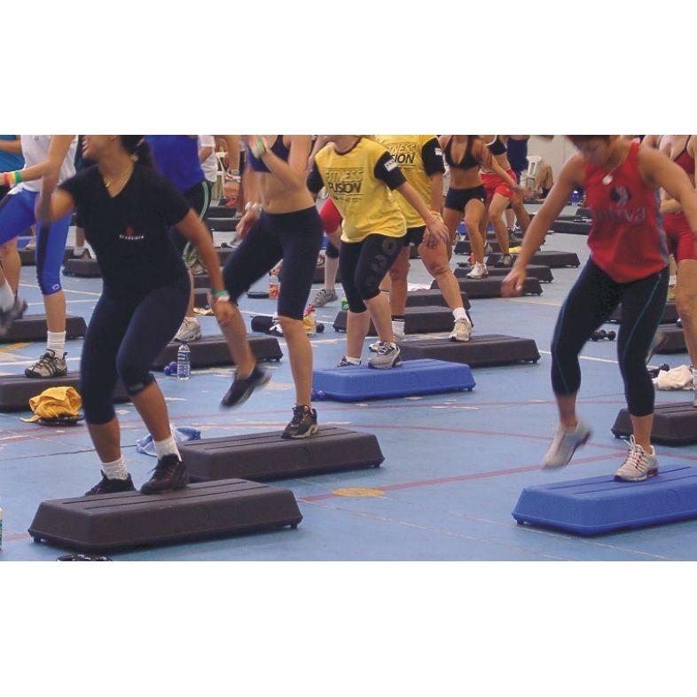 STEP AERÓBICO PROFISSIONAL 95X40X14cm - CLUB SIZE  - Actualsports  Equipamentos Esportivos