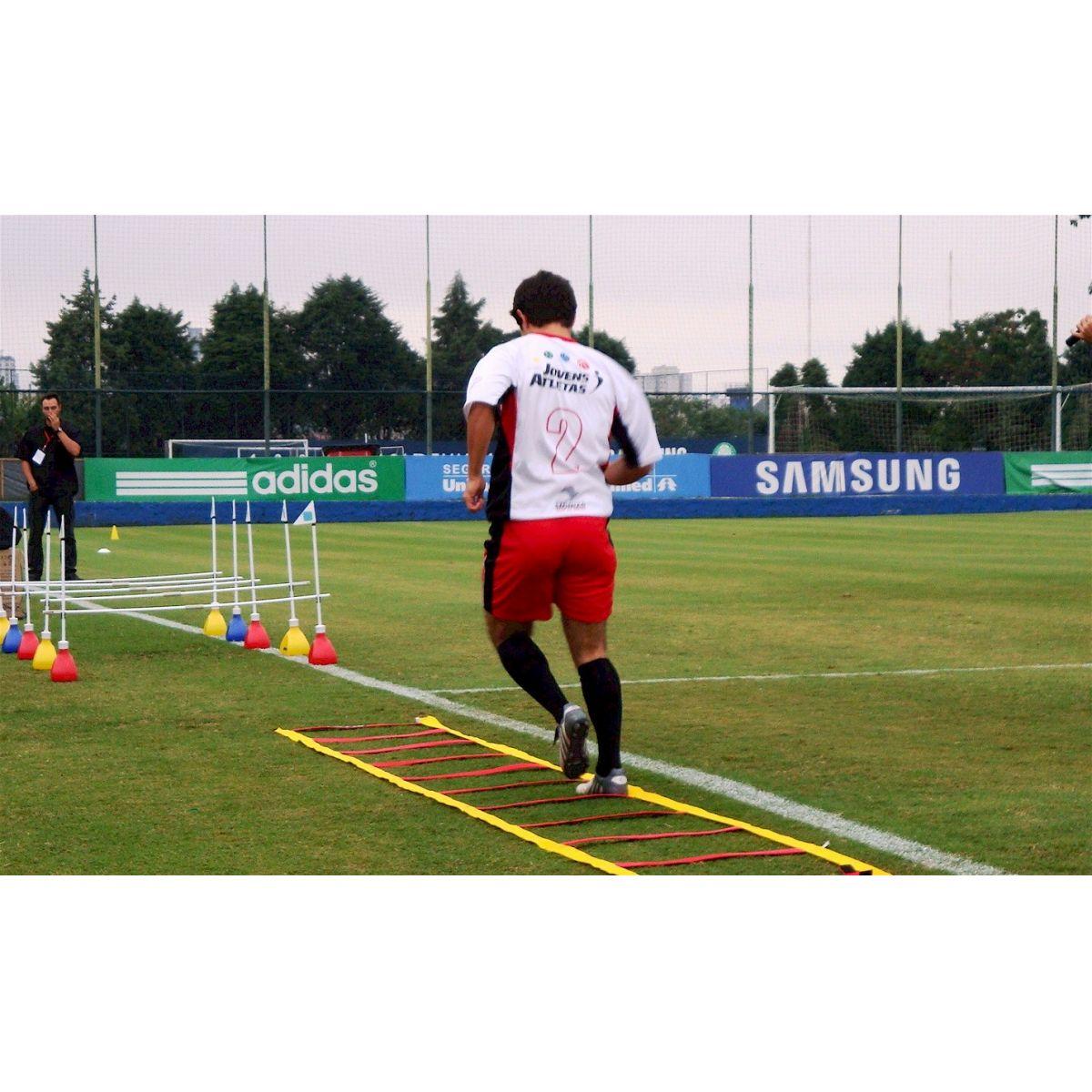 ESCADA DE AGILIDADE PROFISSIONAL 10 PASSADAS FIXAS ACTUAL  - Actualsports  Equipamentos Esportivos