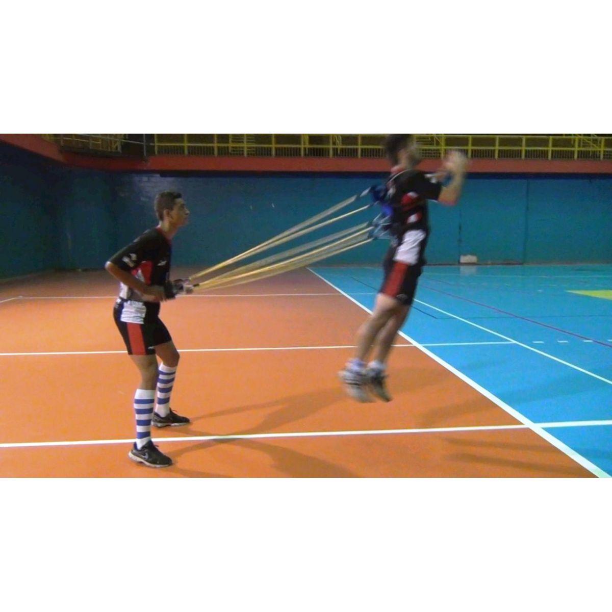 COLETE DE TRAÇÃO DUPLO COMPLETO C/6 ELASTICOS REFORÇADOS  - Actualsports  Equipamentos Esportivos