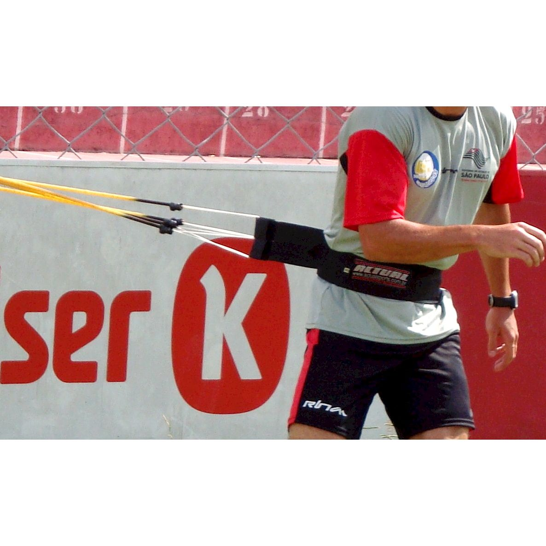 CINTO DE TRAÇÃO ACTUAL INDIVIDUAL 4 ELASTICOS   - Actualsports  Equipamentos Esportivos