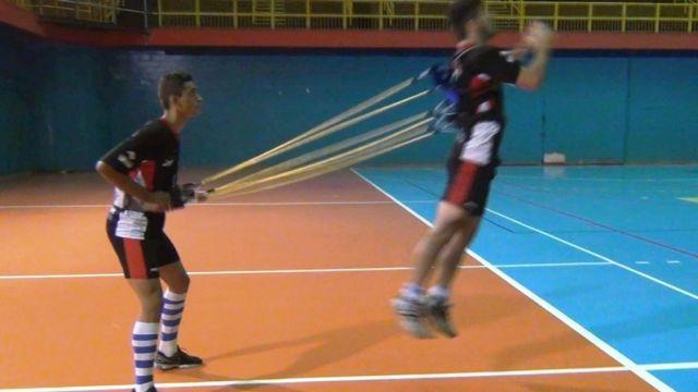COLETE DE TRAÇÃO DUPLO  4 ELASTICOS REFORÇADOS  - Actualsports  Equipamentos Esportivos