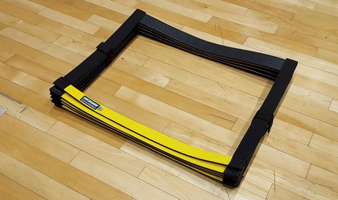Escada de Coordenação 8 Passadas Super Flex Actual  - Actualsports  Equipamentos Esportivos