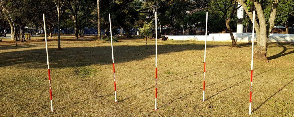 ESTACA PARA TREINAMENTO ESPORTIVO ACTUAL® MODELO START - KIT 3  - Actualsports  Equipamentos Esportivos