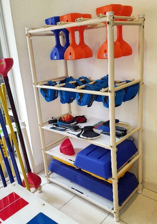 Organizador de Material para Hidroginástica  - Actualsports  Equipamentos Esportivos