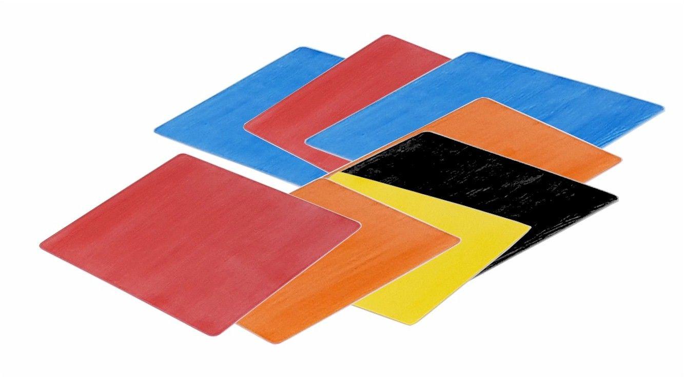 Placas Coloridas Antiderrapantes para Plataforma de Piscina - Kit com 8 peças  - Actualsports  Equipamentos Esportivos