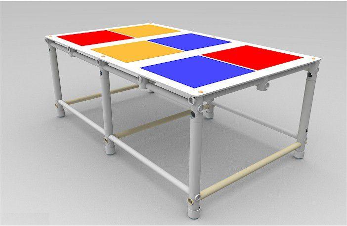 Plataforma de Piscina para Crianças 130x80x50cm  - Actualsports  Equipamentos Esportivos