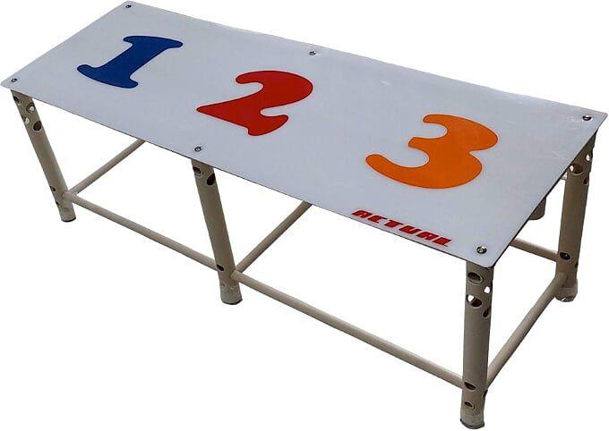Plataforma para Piscina Start 125x45x45cm Natação Infantil 3 Posições  - Actualsports  Equipamentos Esportivos