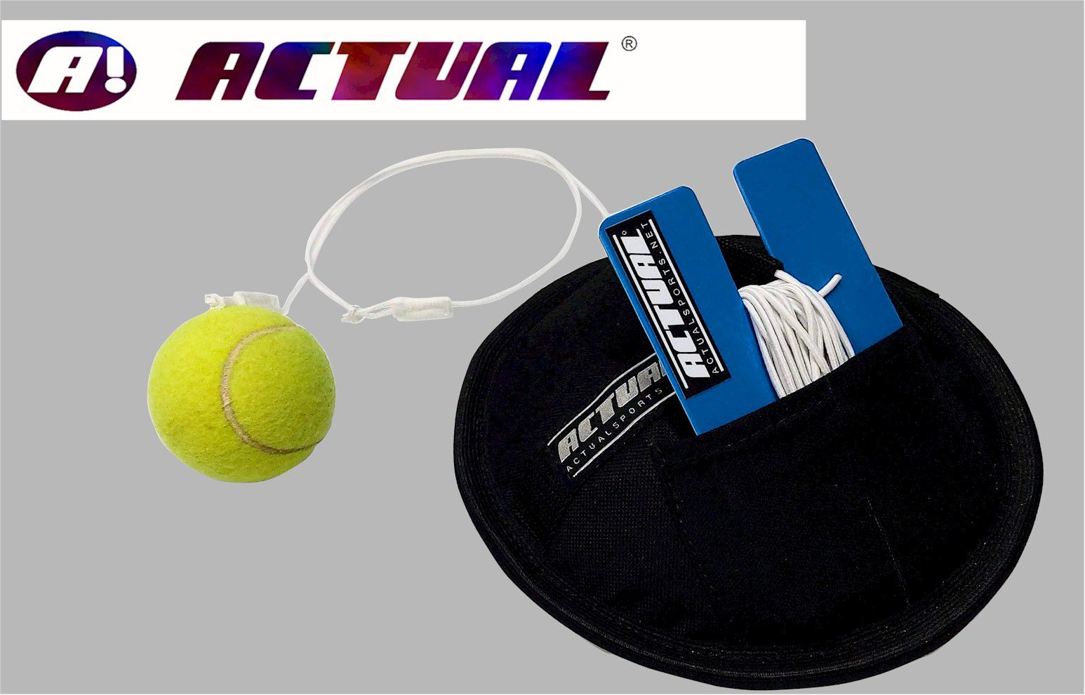 Rebatedor de Tenis por Elástico Actual  - Actualsports  Equipamentos Esportivos