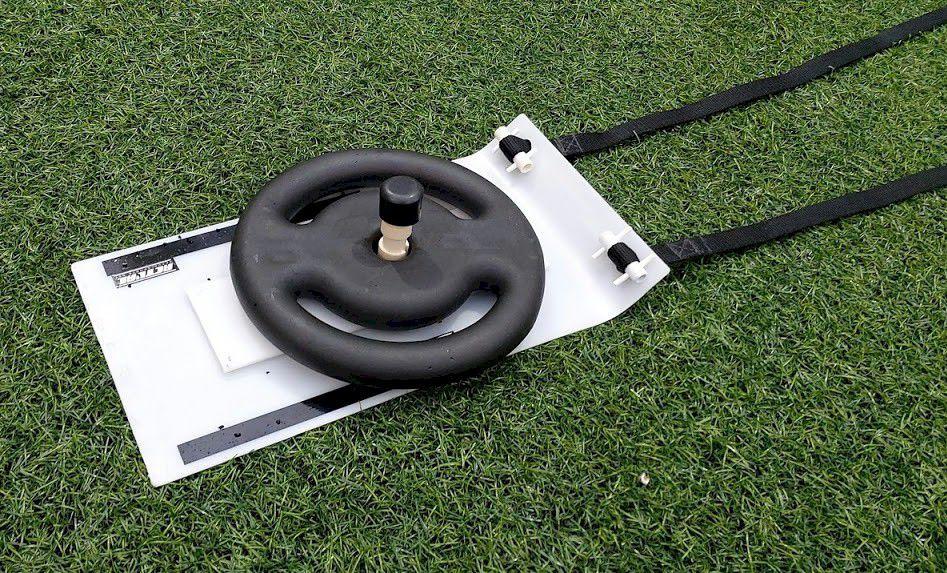 Trenó para Treino Tracionado - Para carga de Anilhas  - Actualsports  Equipamentos Esportivos