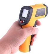 Termômetro de Raios Infravermelho P/Ambientes  -32° +350°c - GM 300