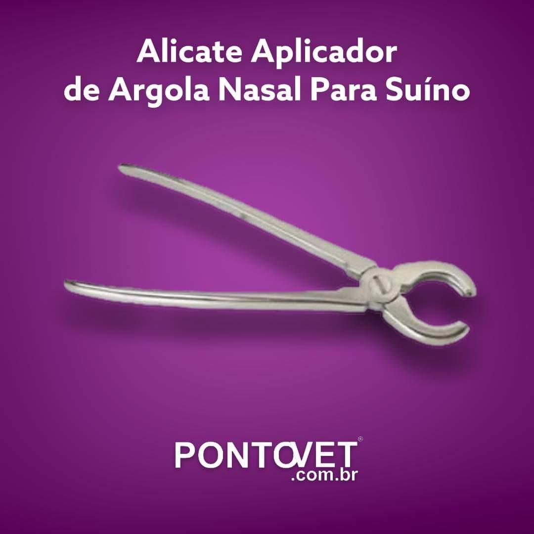Alicate Aplicador De Argola Nasal Para Suíno